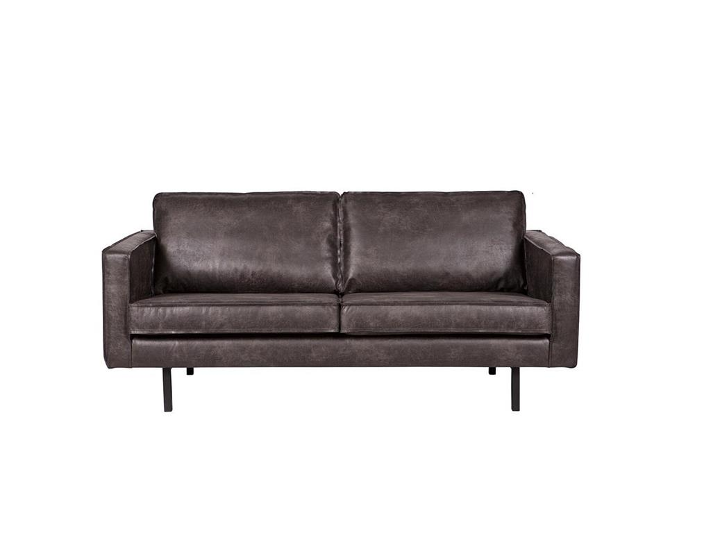 bepurehome rodeo sofa schwarz 2 5 sitzer. Black Bedroom Furniture Sets. Home Design Ideas