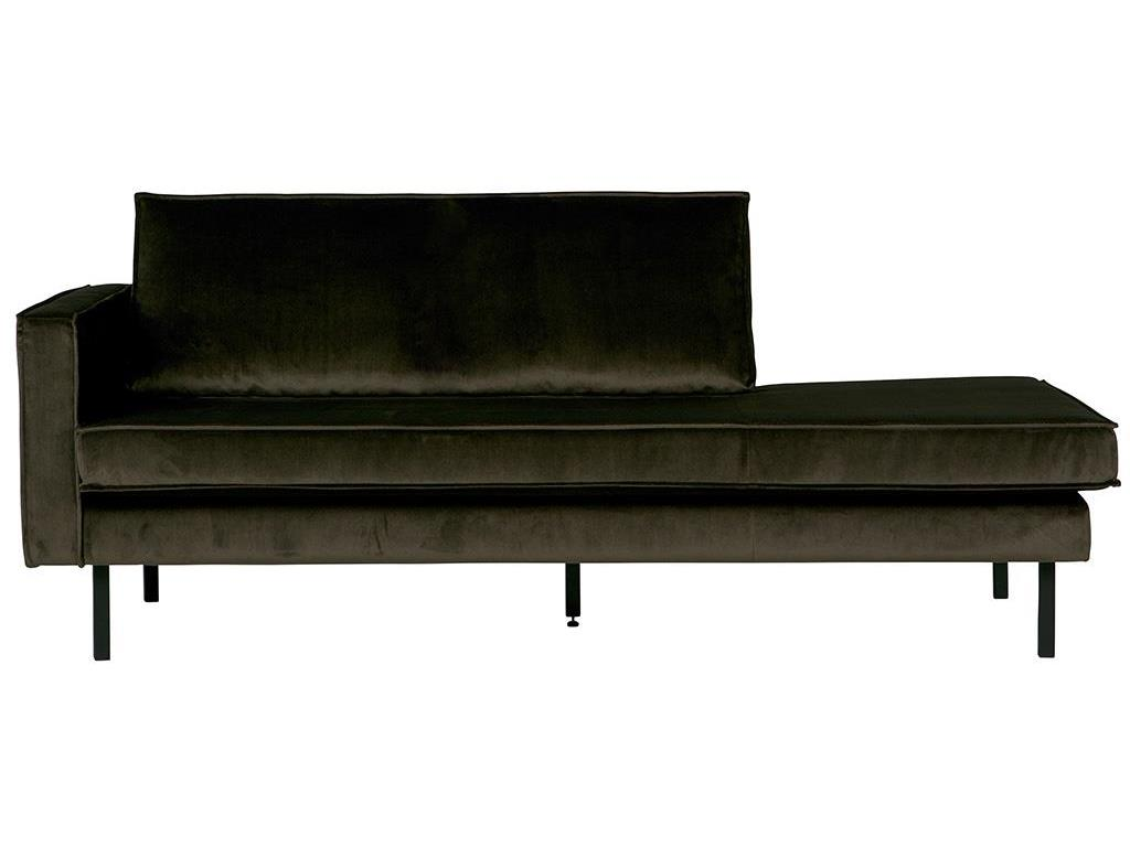 BEPUREHOME Rodeo Daybed Links Samt Dark Green Hunter 800743-156