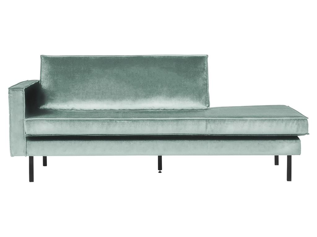 BEPUREHOME Rodeo Daybed Links Samt Mint 800743-144
