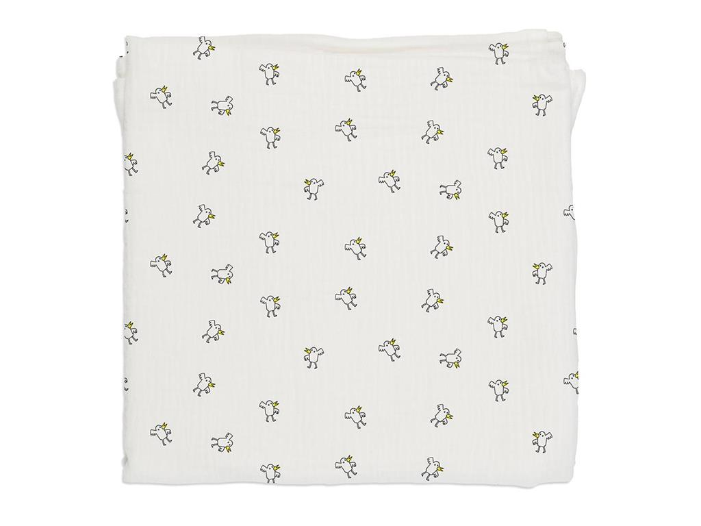 BABY BITES Decke Chicks 120x120cm 003-MUSE-POLL