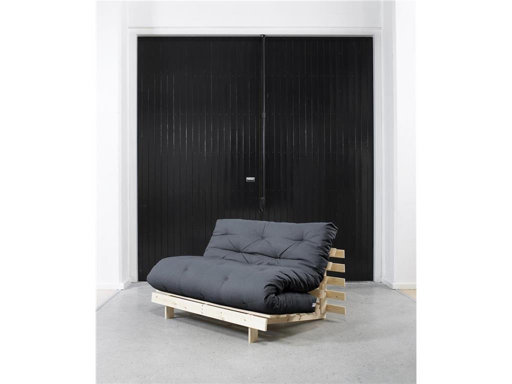 karup futon matratze 140x200 mit knopfsteppung. Black Bedroom Furniture Sets. Home Design Ideas