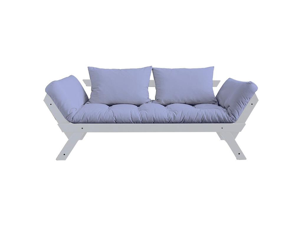 karup futon sofa bebop gestell cool gray. Black Bedroom Furniture Sets. Home Design Ideas