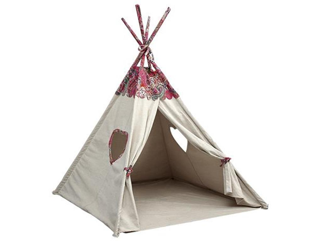 lifetime kidsroom indoor zelt pocahontas lifetime kinder tipi kinderzelt. Black Bedroom Furniture Sets. Home Design Ideas