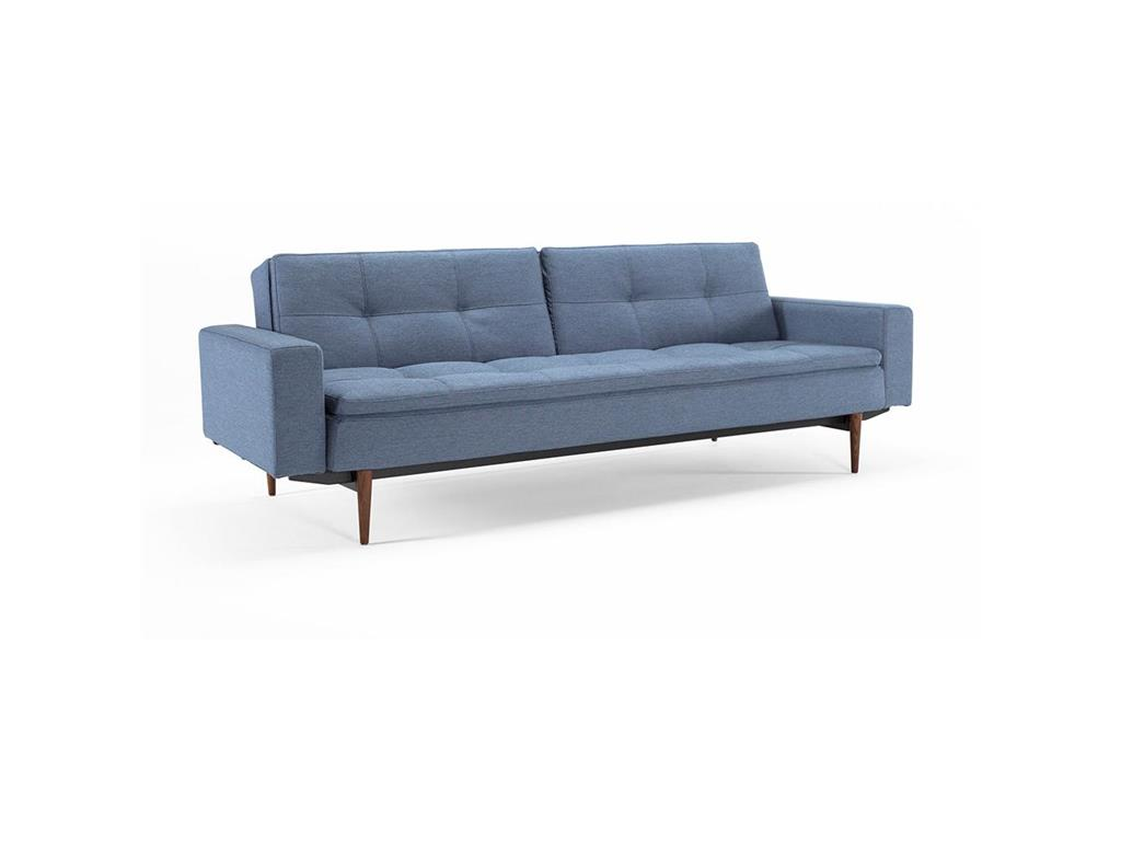 innovation dublexo sofa soft blau mit armlehnen. Black Bedroom Furniture Sets. Home Design Ideas