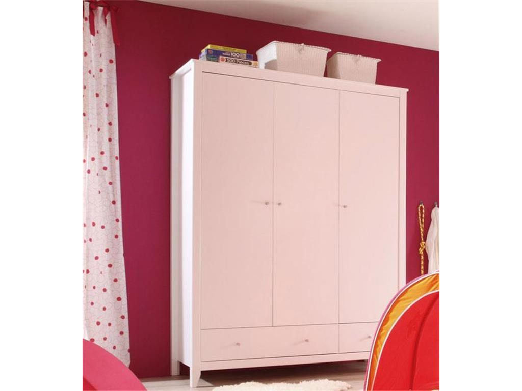 gro e billiger wei e kleiderschr nke hoppekids. Black Bedroom Furniture Sets. Home Design Ideas