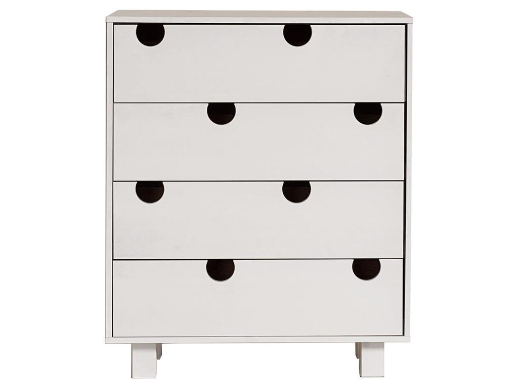 karup kommode mit 4 schubladen kiefer wei house. Black Bedroom Furniture Sets. Home Design Ideas