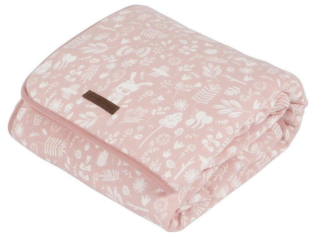 LITTLE DUTCH Adventure Decke Pure&Soft Pink 110...