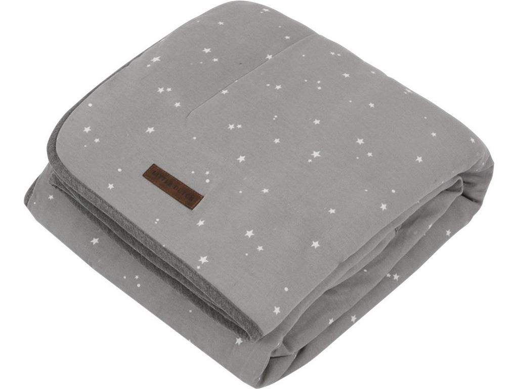 LITTLE DUTCH Little Stars Decke Pure&Soft Grey ...