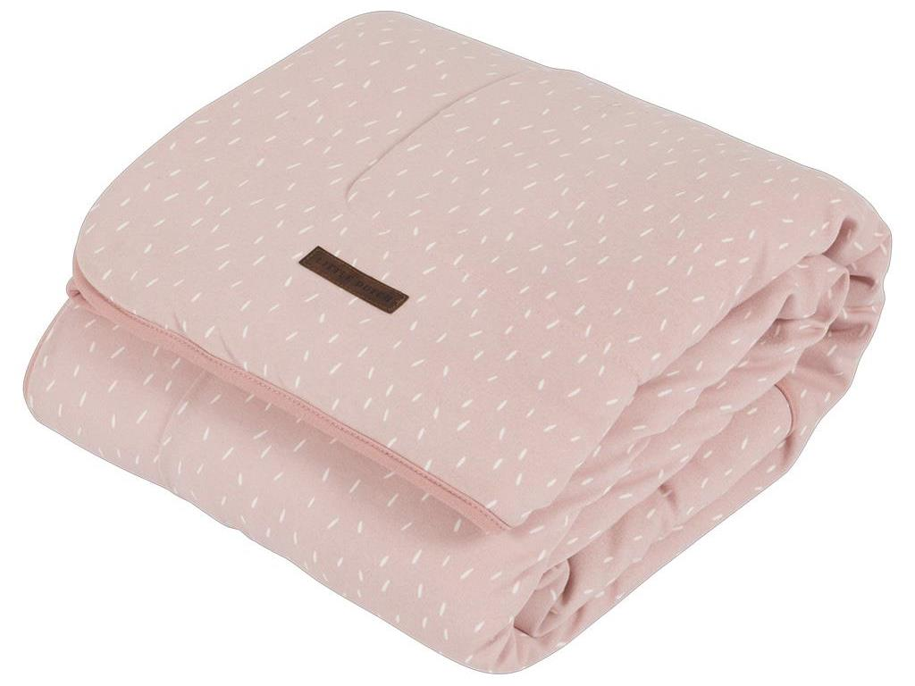 LITTLE DUTCH Adventure Decke Pure&Soft Pink Spr...
