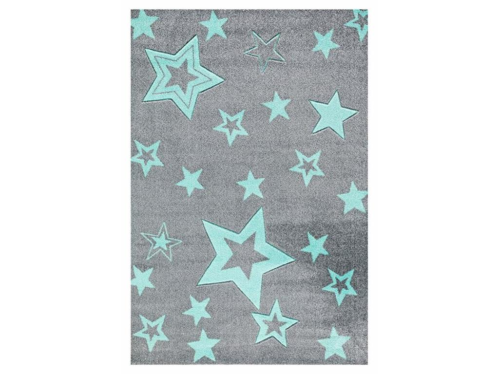 livone happy rugs teppich starlight grau mint 130x190cm. Black Bedroom Furniture Sets. Home Design Ideas