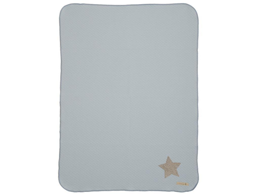 LOTTAS LABLE® Jerseydecke Jerry Pastell Blue 70...