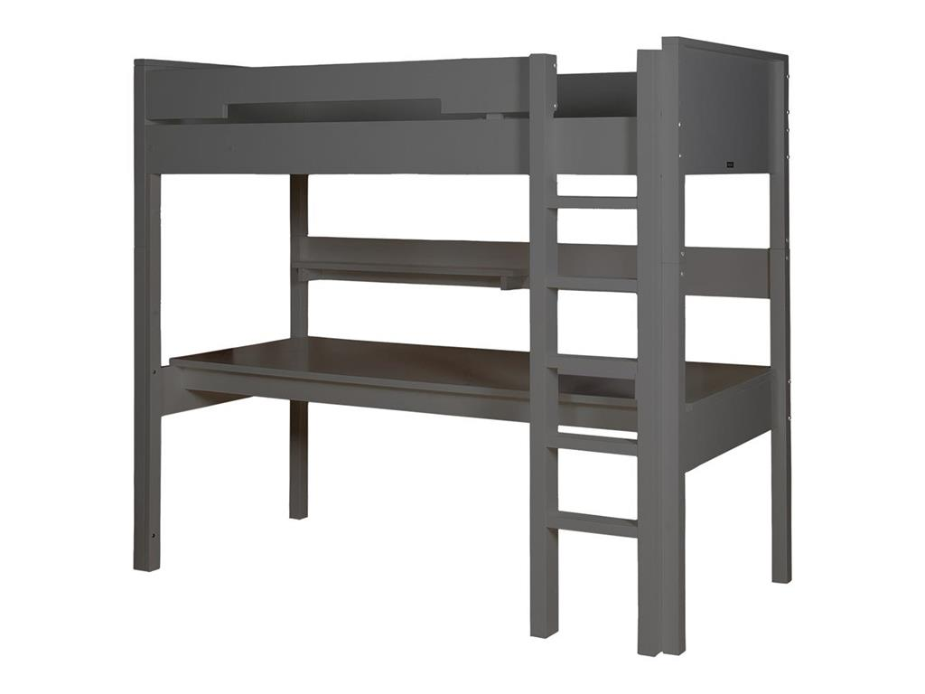 bopita combiflex schreibtisch f r hochbett xl deep grey. Black Bedroom Furniture Sets. Home Design Ideas