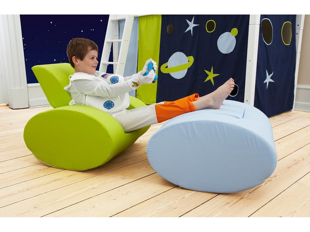 HOPPEKIDS Space Sessel Ellipse Hellblau Kindersessel 36-4360-LB-000