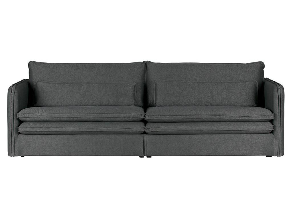 woood matthijs sofa 3 sitzer grau. Black Bedroom Furniture Sets. Home Design Ideas
