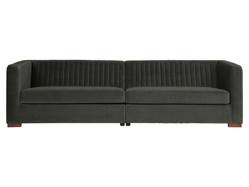 bepurehome nouveau sofa samt gr n onyx xl. Black Bedroom Furniture Sets. Home Design Ideas