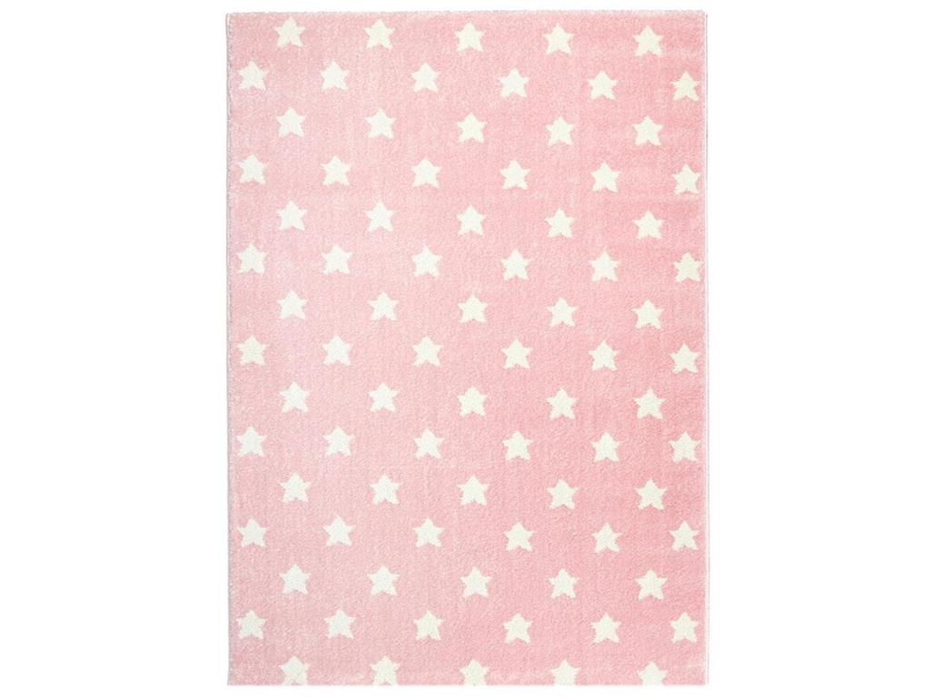 livone teppich little stars rosa wei 80x150cm happy rugs. Black Bedroom Furniture Sets. Home Design Ideas