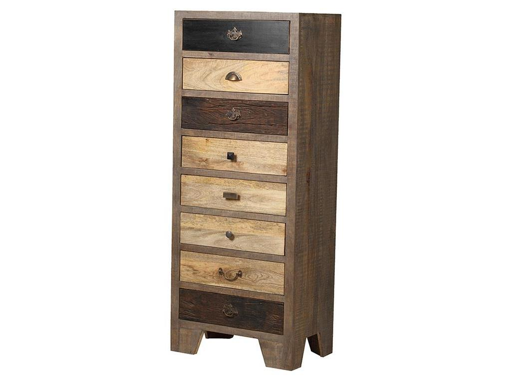 THEWOODTIMES Houston Kommode Mango Holz TW-IN6616FSC