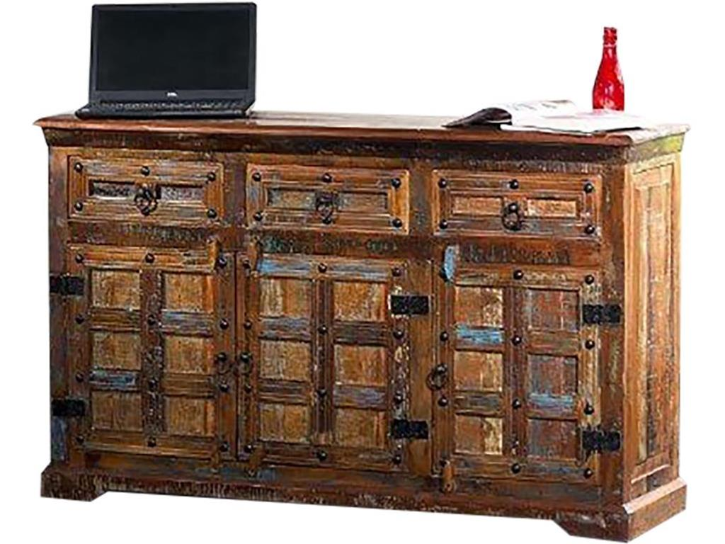 THEWOODTIMES Delhi Sideboard recyceltes Holz TW-IN8713FSC