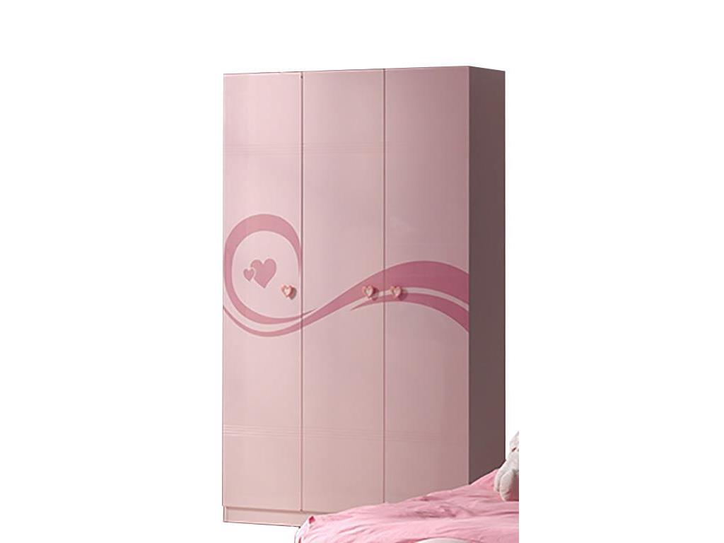 vipack lizzy kleiderschrank 3 t rig h he 200 cm. Black Bedroom Furniture Sets. Home Design Ideas