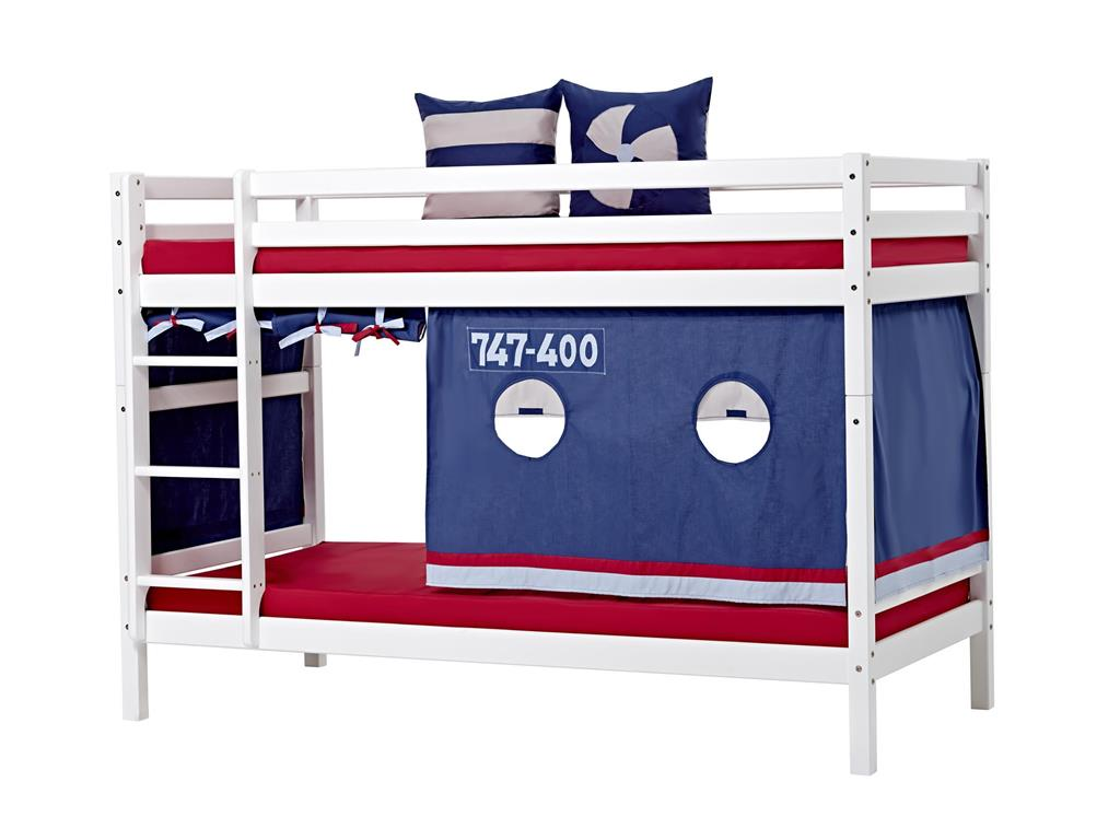 hoppekids vorhang aeroplane f r spielbett oder etagenbett. Black Bedroom Furniture Sets. Home Design Ideas