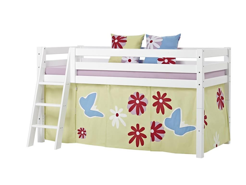 hoppekids vorhang butterfly f r spielbett oder etagenbett. Black Bedroom Furniture Sets. Home Design Ideas
