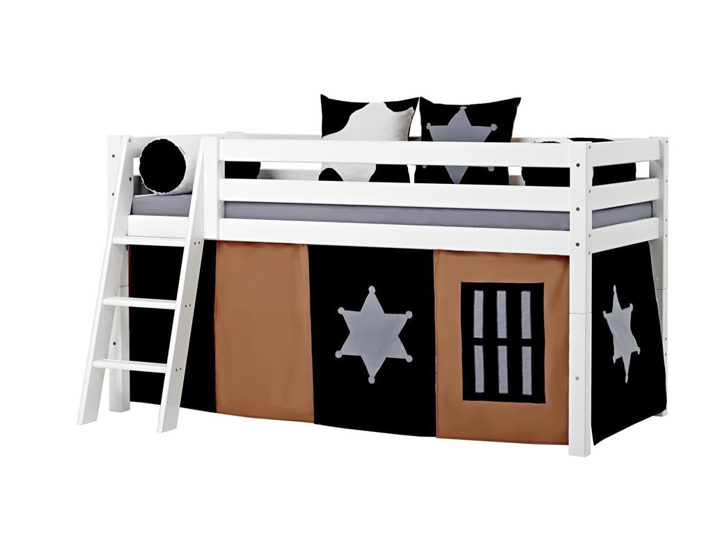 hoppekids cowboy vorhang f r spielbett oder etagenbett. Black Bedroom Furniture Sets. Home Design Ideas