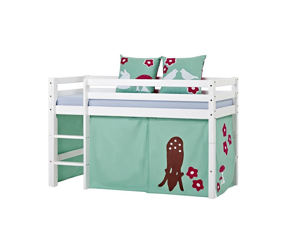 hoppekids forest vorhang f r spielbett oder etagenbett 70x160cm. Black Bedroom Furniture Sets. Home Design Ideas