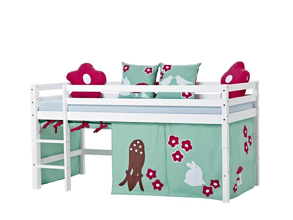 hoppekids forest vorhang f r spielbett oder etagenbett 70x190cm. Black Bedroom Furniture Sets. Home Design Ideas