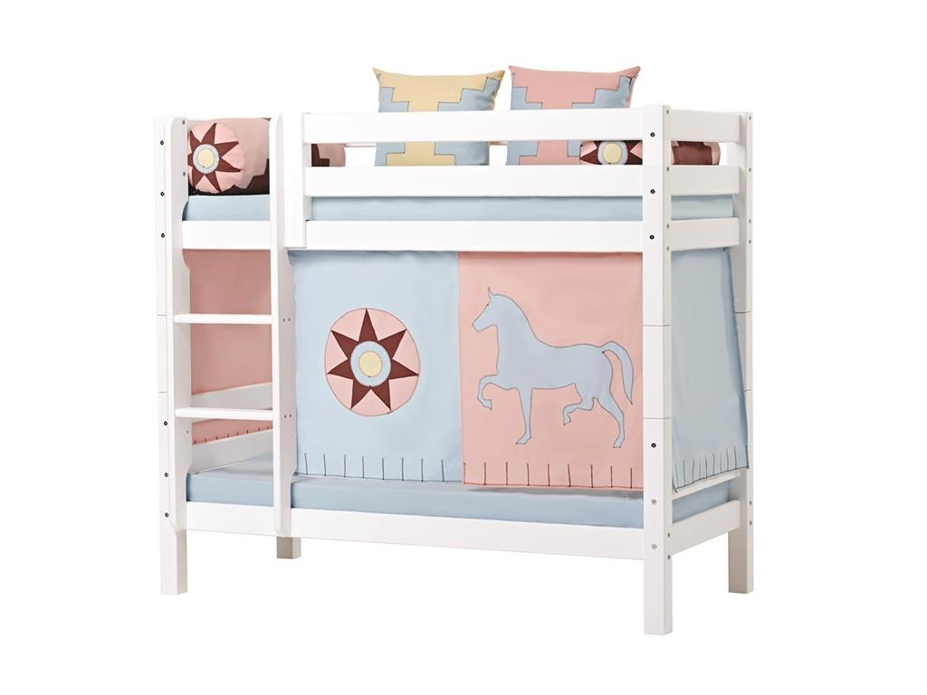 hoppekids indian girl vorhang f r spielbett oder etagenbett 70x160cm. Black Bedroom Furniture Sets. Home Design Ideas