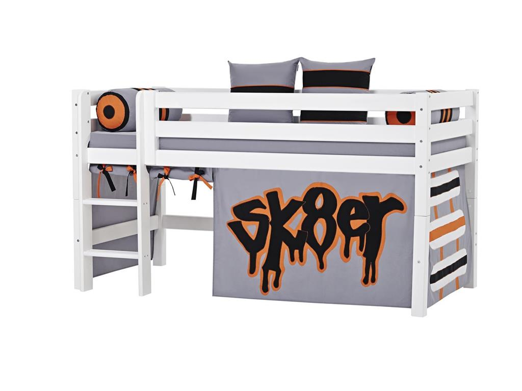 hoppekids skater vorhang f r spielbett oder etagenbett 70x190cm. Black Bedroom Furniture Sets. Home Design Ideas
