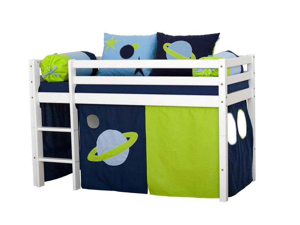hoppekids space vorhang f r spielbett oder etagenbett 70x160cm. Black Bedroom Furniture Sets. Home Design Ideas