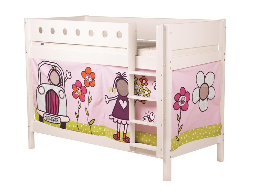 flexa vorhang f r hochbett h he 77cm flexa girlie. Black Bedroom Furniture Sets. Home Design Ideas