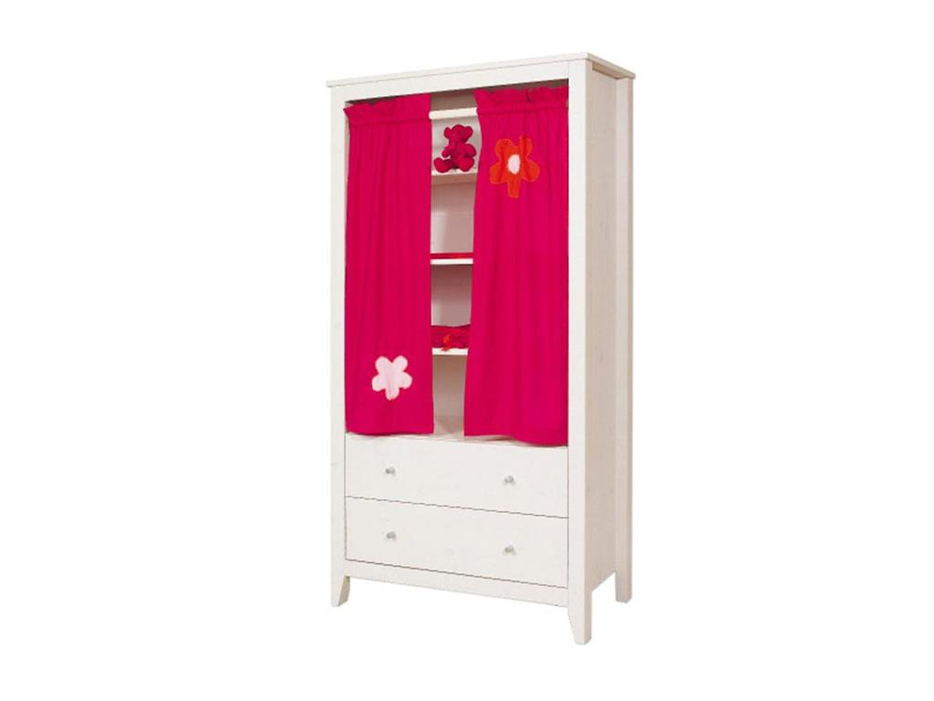 hoppekids flower power vorhang f r schrank regal hans. Black Bedroom Furniture Sets. Home Design Ideas