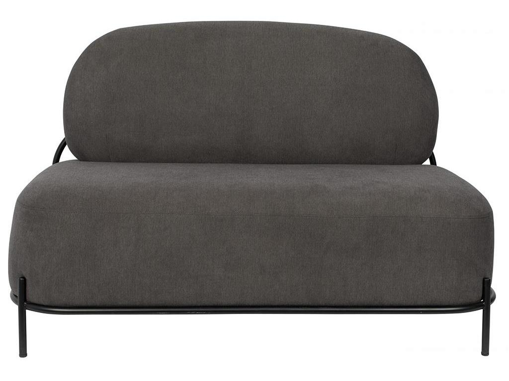 WHITE LABEL LIVING Polly Lounge Sofa Grey 3200163