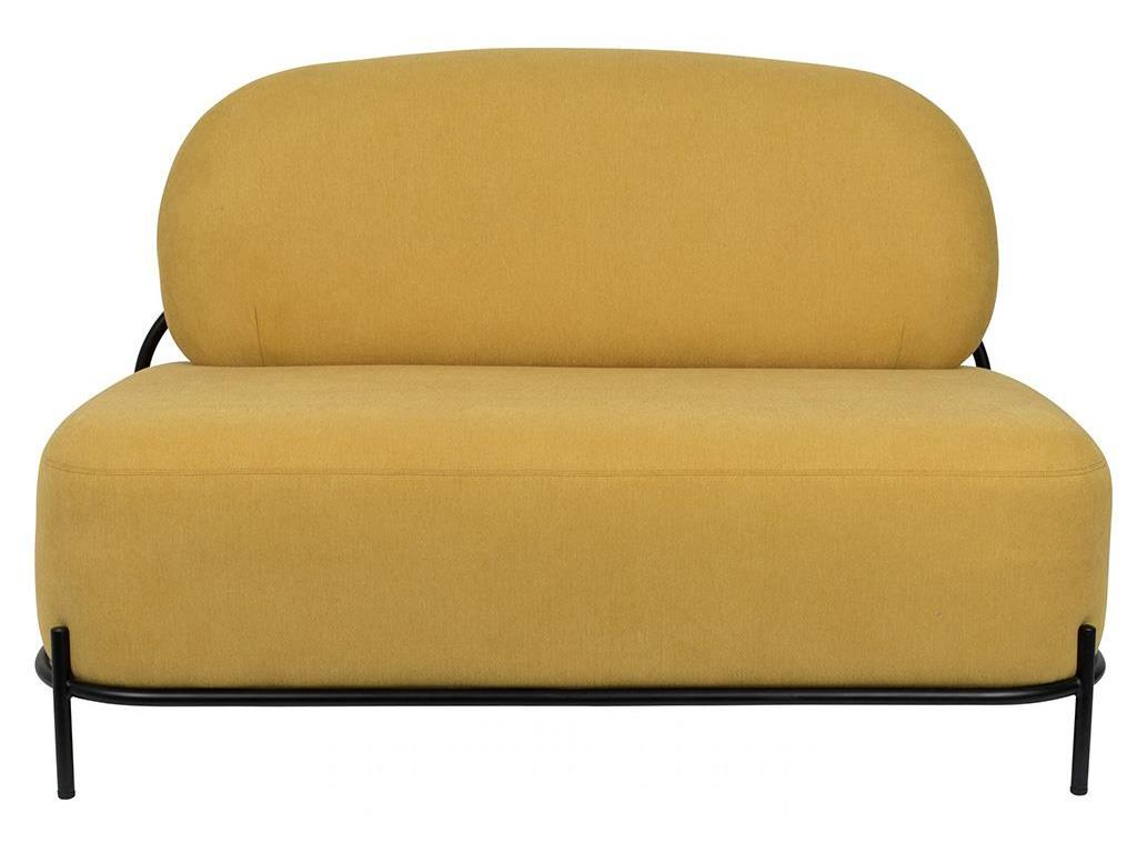 WHITE LABEL LIVING Polly Lounge Sofa Yellow 3200162