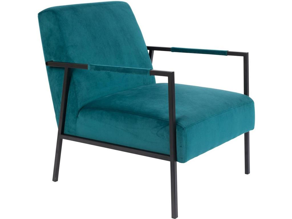 WHITE LABEL LIVING Lounge Sessel Wakasan Teal 3100078