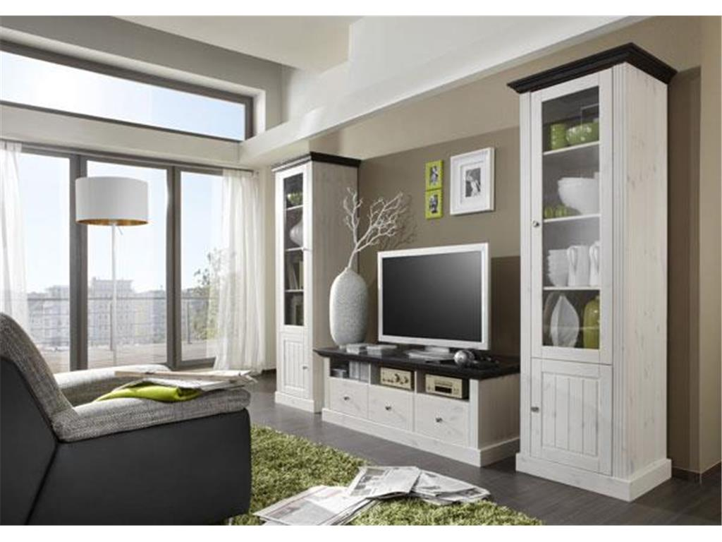 steens monaco wohnwand 3 teilig. Black Bedroom Furniture Sets. Home Design Ideas