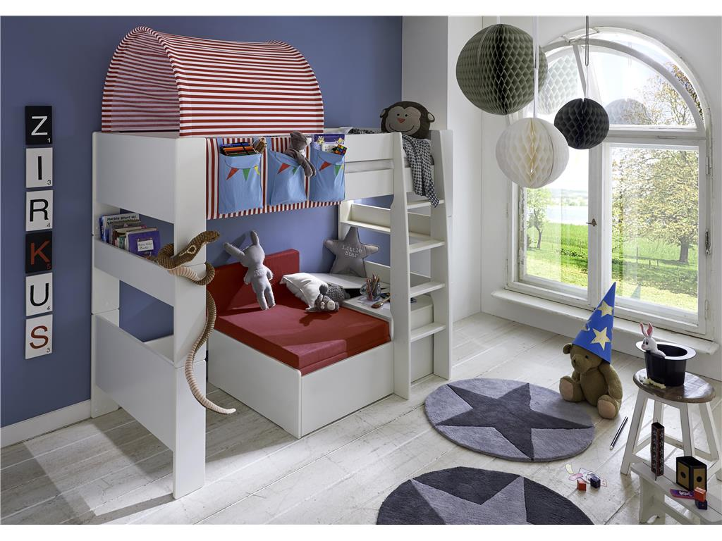 steens for kids betttunnel f r kinderbett zirkus. Black Bedroom Furniture Sets. Home Design Ideas