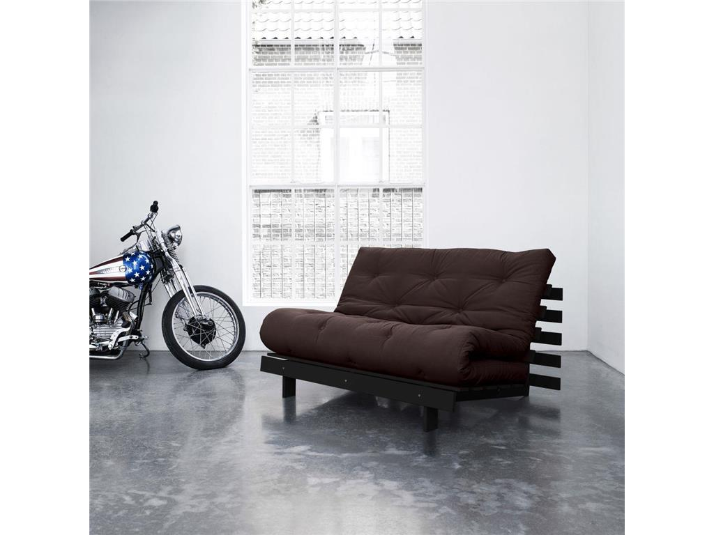 karup design futonsofa mit matratze gestell wenge 140cm roots karup. Black Bedroom Furniture Sets. Home Design Ideas