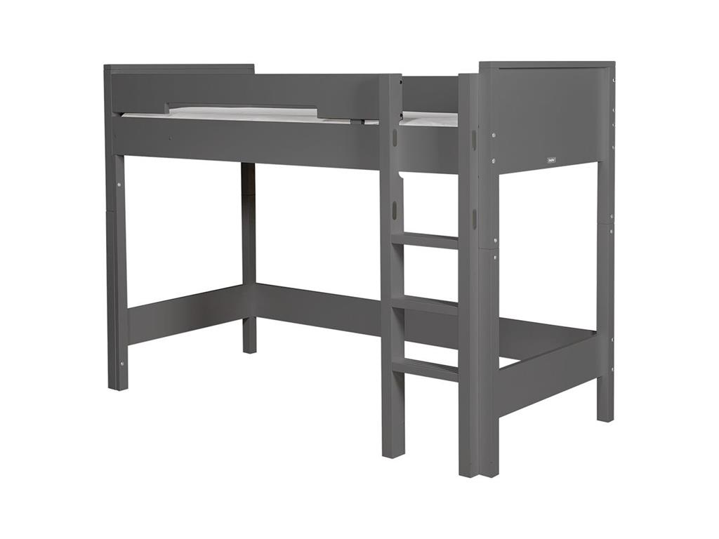 bopita combiflex gerade leiter mit griffmulden f r hochbett deep grey. Black Bedroom Furniture Sets. Home Design Ideas