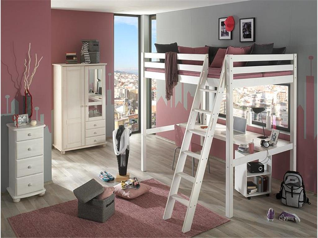 kinderzimmer hochbett madchenzimmer gestalten ideen kinderzimmer mit hochbett kinderzimmer mit. Black Bedroom Furniture Sets. Home Design Ideas