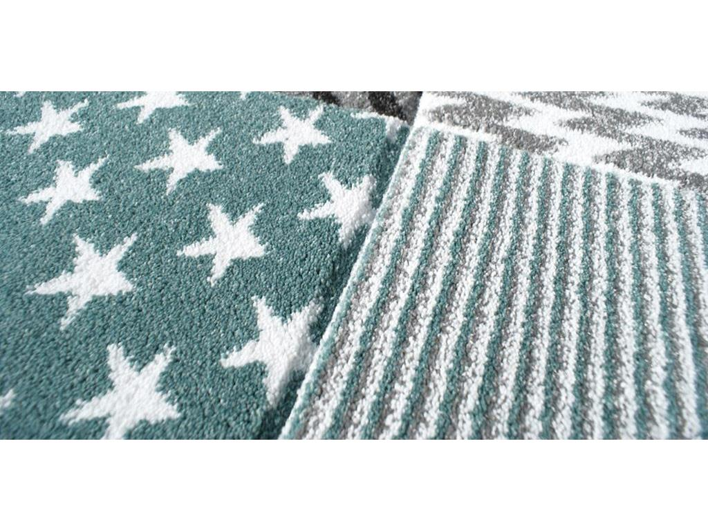 livone happy rugs teppich starwalk mint 160x230cm. Black Bedroom Furniture Sets. Home Design Ideas