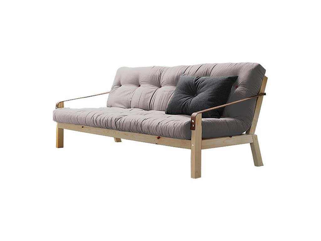 Karup schlafsofa poetry mit natur gestell for Schlafsofa natur