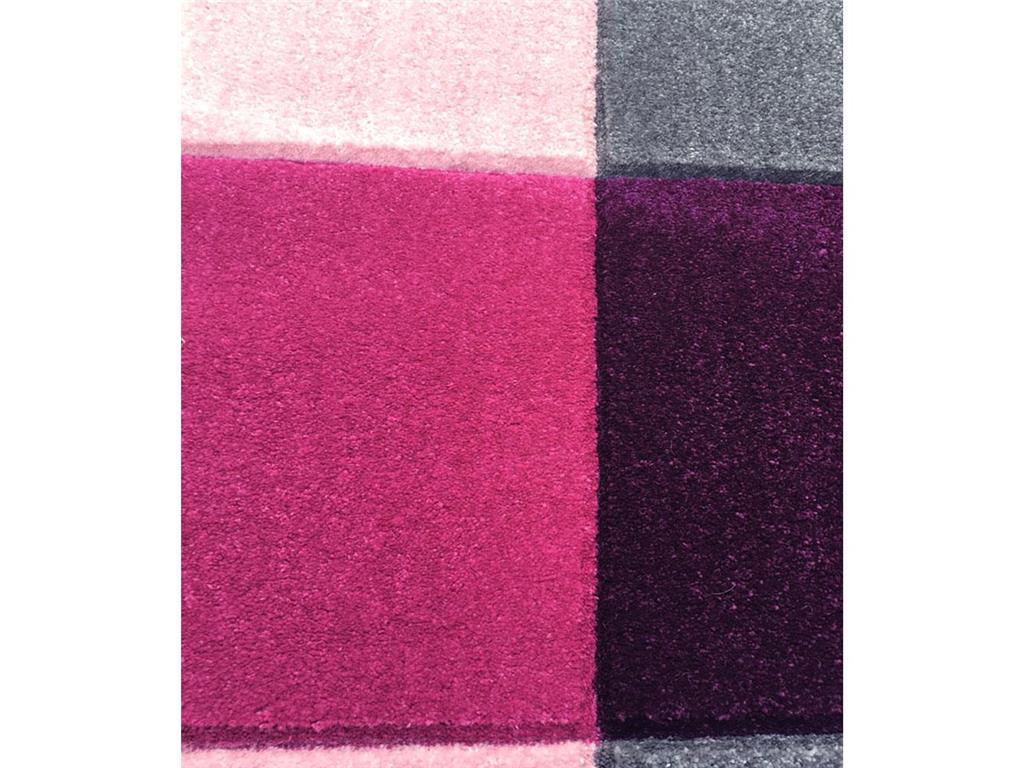 livone teppich checker rosa 120x180cm happy rugs. Black Bedroom Furniture Sets. Home Design Ideas