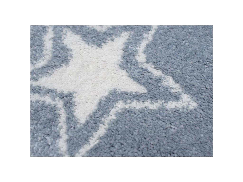 livone happy rugs teppich starlight blau wei 100x160cm. Black Bedroom Furniture Sets. Home Design Ideas