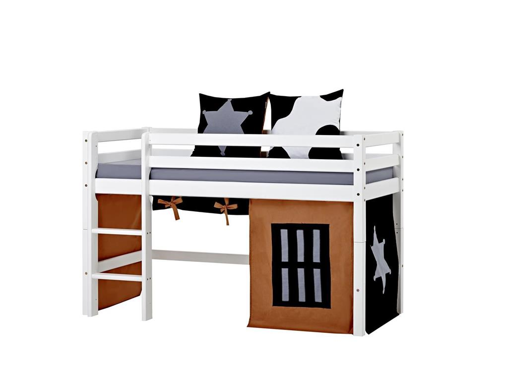 hoppekids cowboy vorhang f r spielbett oder etagenbett 70x160cm. Black Bedroom Furniture Sets. Home Design Ideas