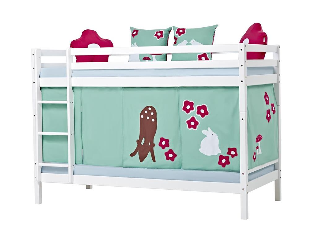 hoppekids forest vorhang f r spielbett oder etagenbett. Black Bedroom Furniture Sets. Home Design Ideas