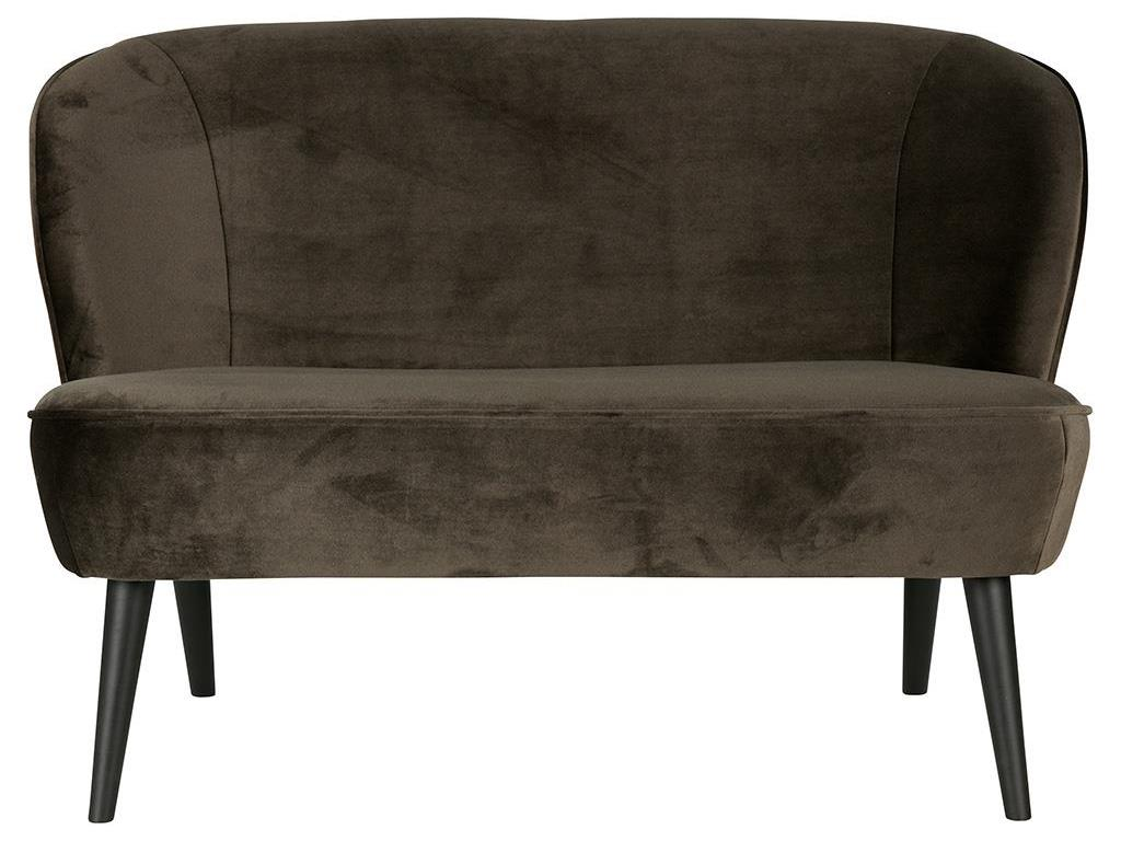 woood sara retro sofa samt warmes gr n 2 sitzer. Black Bedroom Furniture Sets. Home Design Ideas