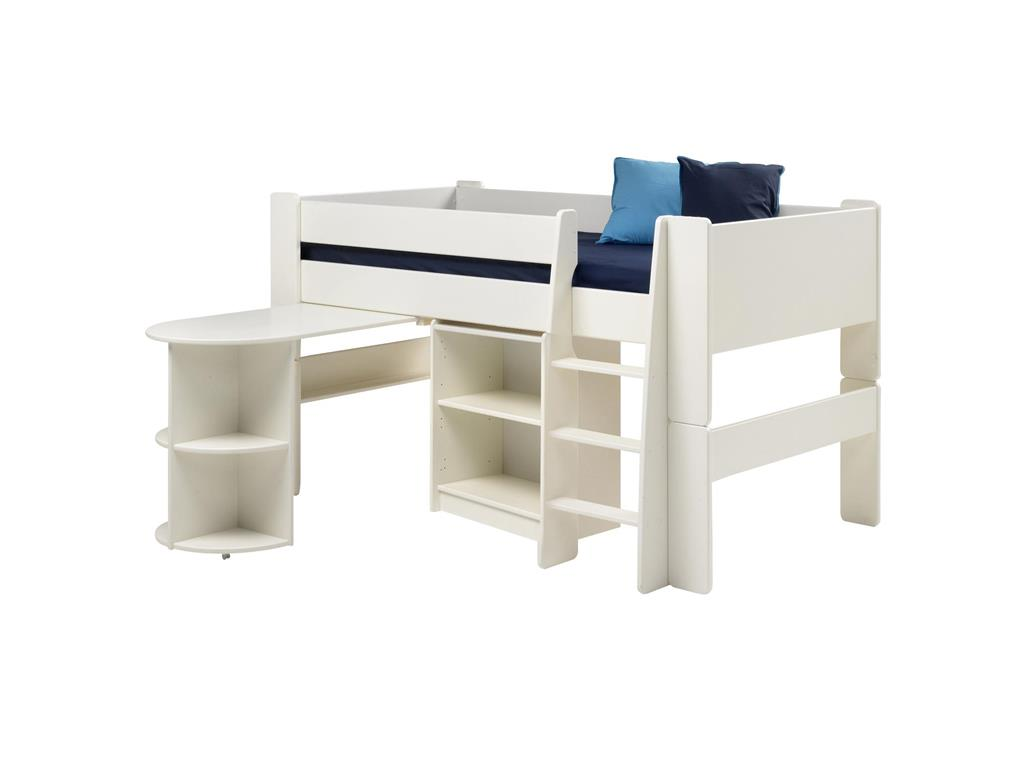 steens hochbett mit schreibtisch steens for kids. Black Bedroom Furniture Sets. Home Design Ideas