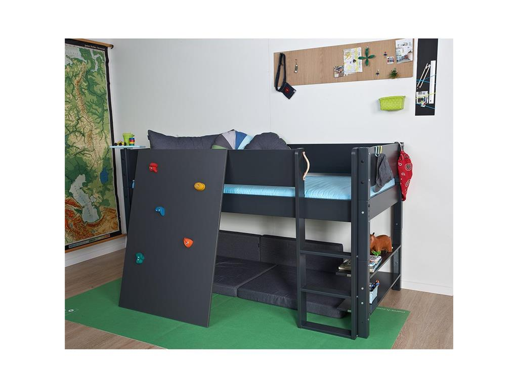 manis h kletterwand f r halbhohes bett h he 121cm. Black Bedroom Furniture Sets. Home Design Ideas